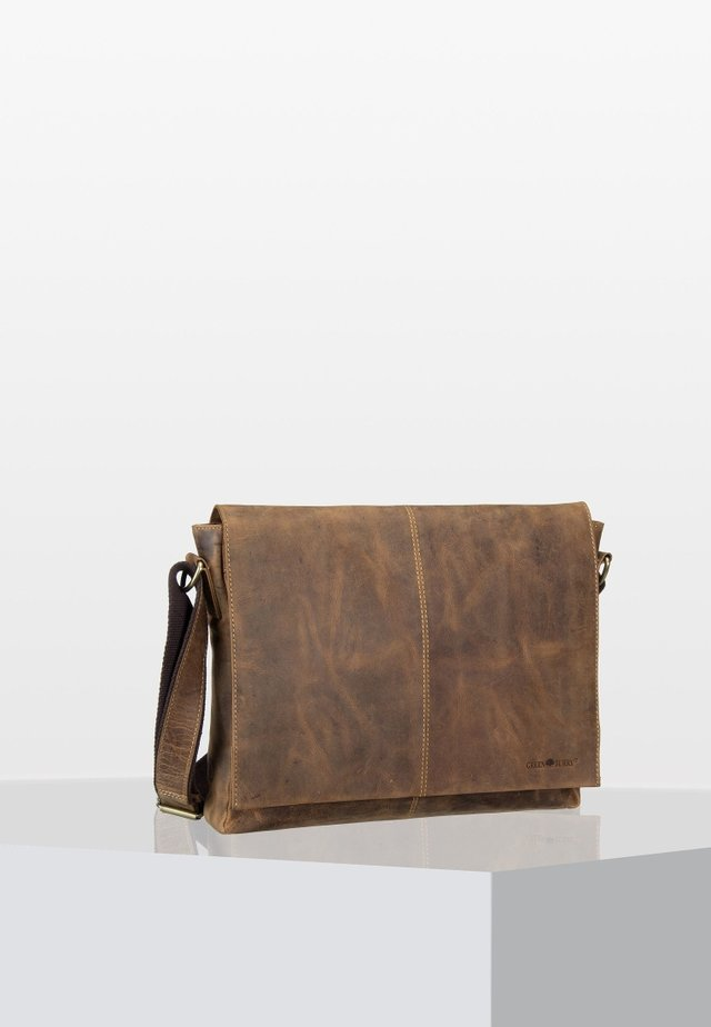 VINTAGE  - Across body bag - brown