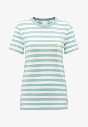 SHORT SLEEVE STRIPE - Print T-shirt - multi/milky mint