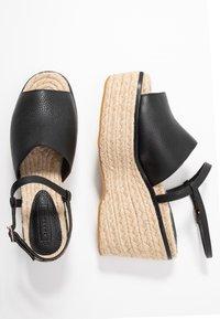 Topshop - WAKE - Sandály na vysokém podpatku - black - 3