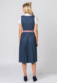 Stockerpoint - ROSELINE - Dirndl - blue/old pink - 1