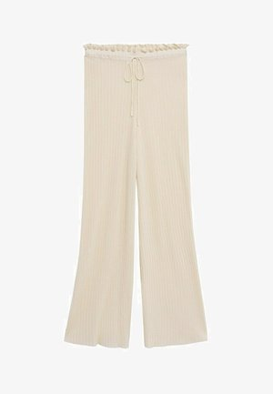 Trousers - blanco marfil