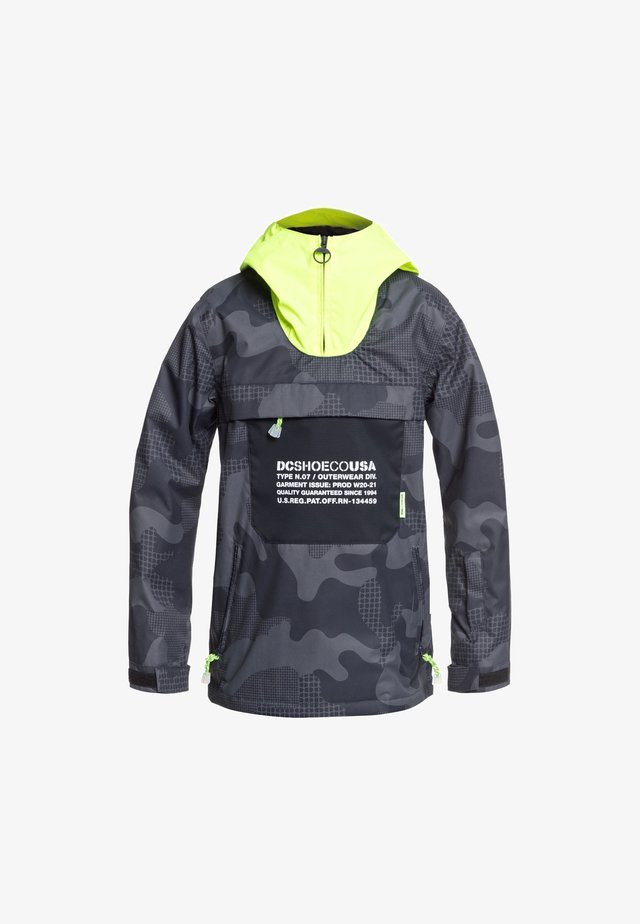 Vinterjacka - youth pill camo black