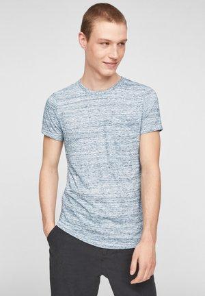Basic T-shirt - white melange
