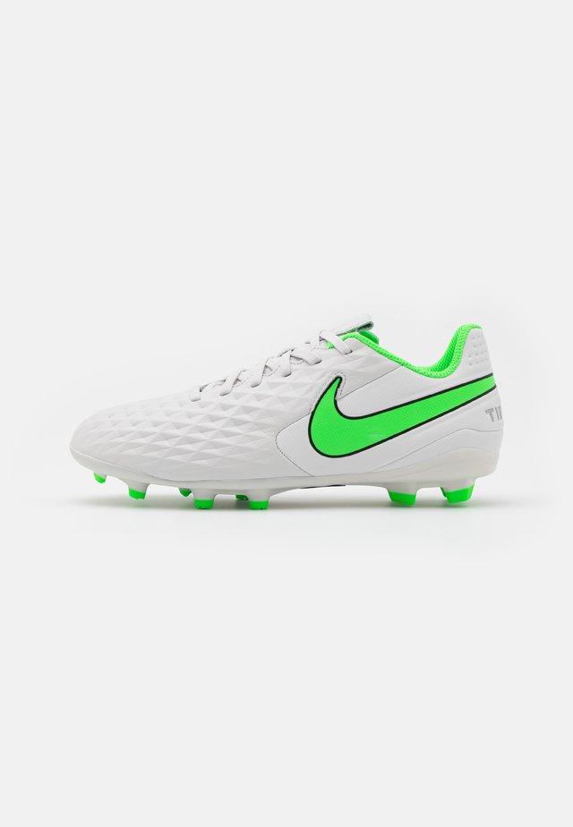 JR TIEMPO LEGEND 8 ACADEMY MG UNISEX - Voetbalschoenen met kunststof noppen - platinum tint/rage green