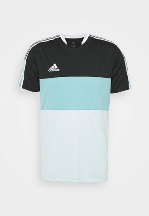 TIRO - T-shirts print - black/halo mint