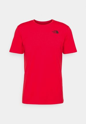 FOUNDATION GRAPHIC TEE - T-shirt med print - red
