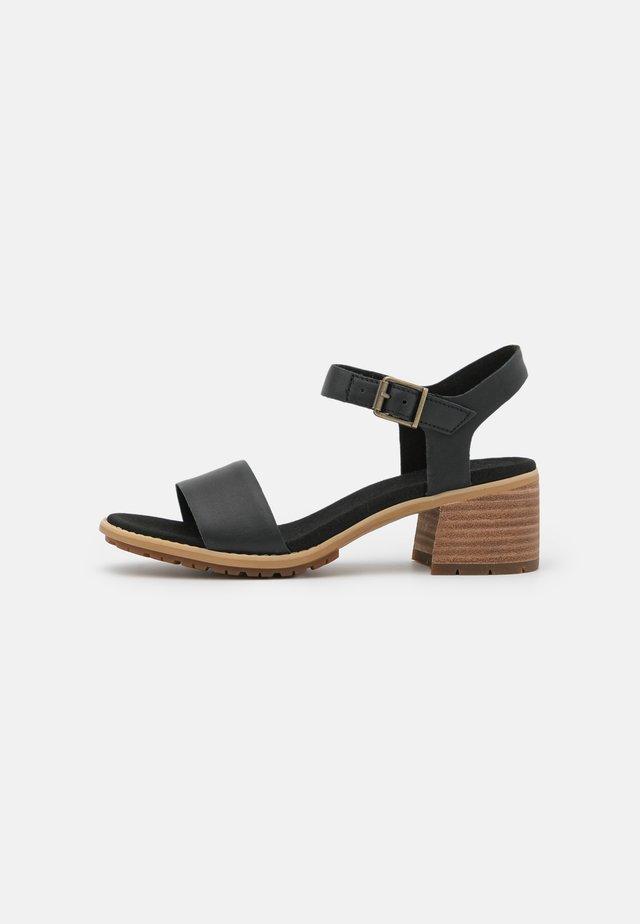 LAGUNA SHORE MID HEEL - Sandals - black