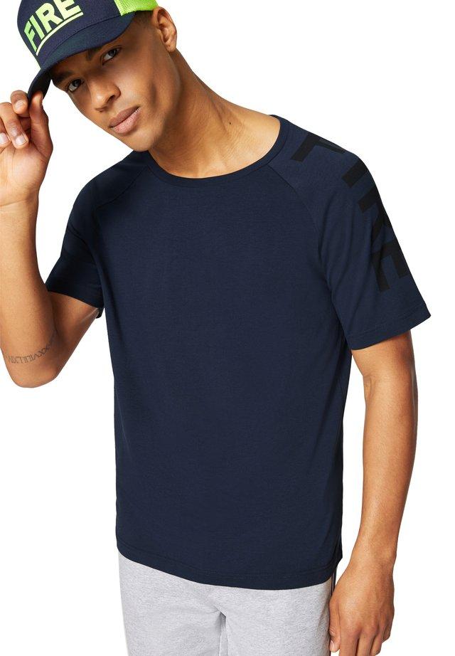 ROGER - T-shirt print - navy-blau