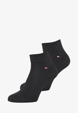 MEN QUARTER 2 PACK - Chaussettes - black