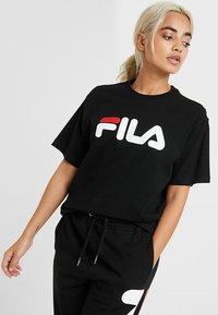 Fila Petite - PURE TEE - Print T-shirt - black - 0