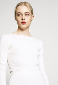 Glamorous - CROP JUMPER - Strikpullover /Striktrøjer - off white - 4