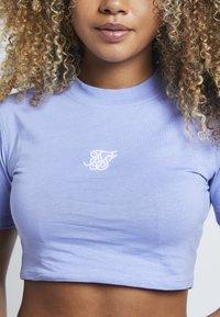 SIKSILK - Basic T-shirt - violet - 4
