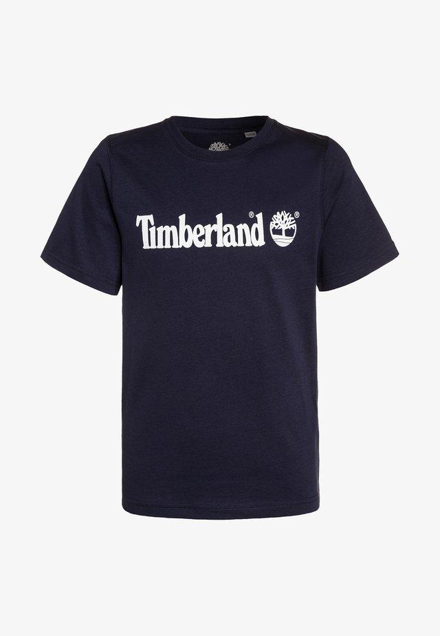 T-shirt con stampa - blue indigo
