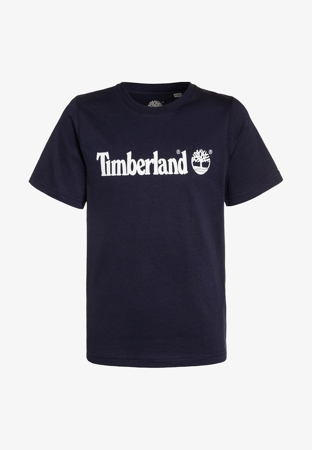 Print T-shirt - blue indigo