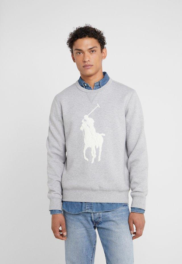 DOUBLE - Sweatshirt - andover heather