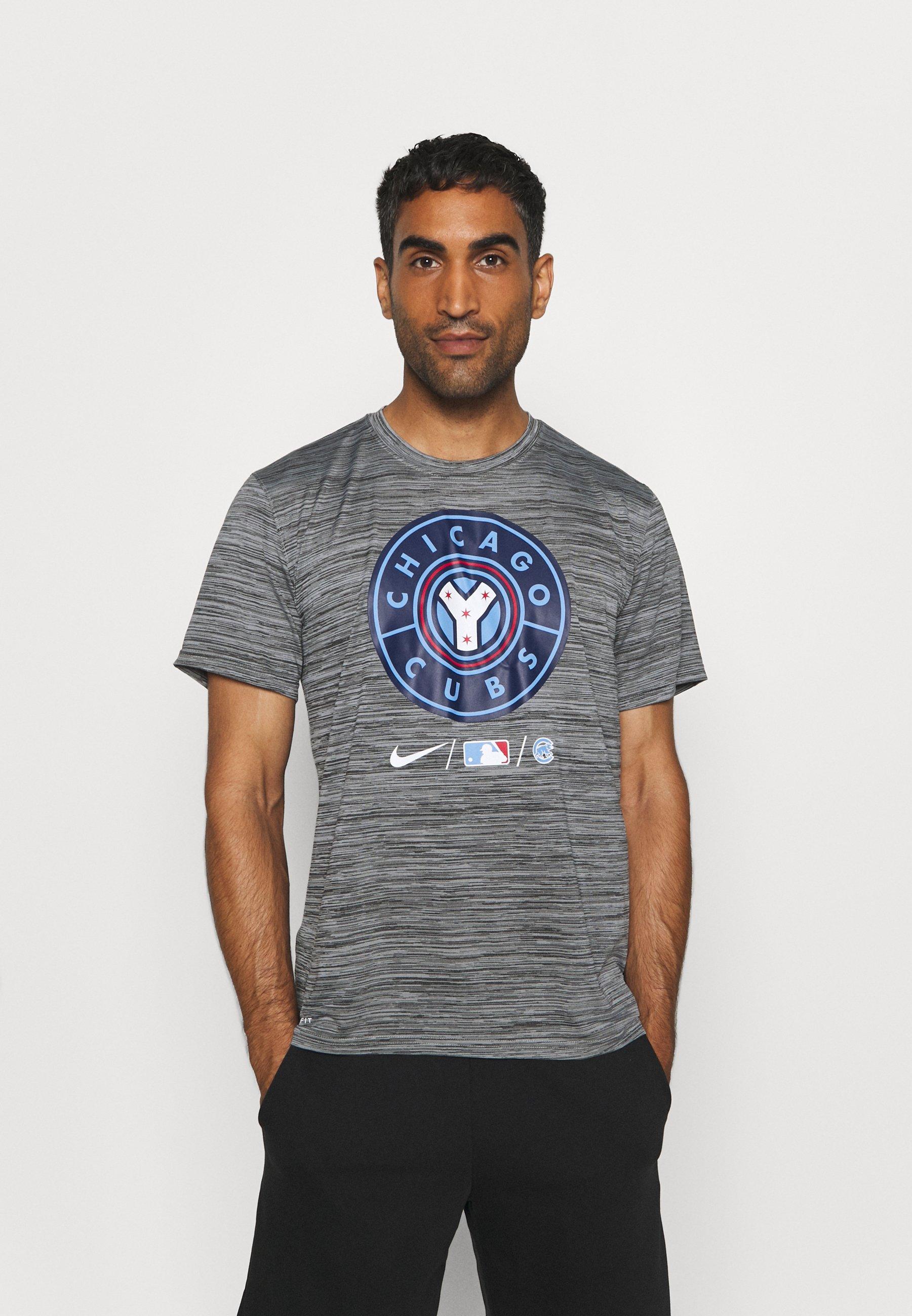 Homme MLB CITY CONNECT CHICAGO CUBS BASEBALL VELOCITY PRACTICE - T-shirt imprimé