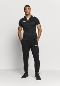 Hummel - AUTHENTIC PANT - Træningsbukser - black/white - 1