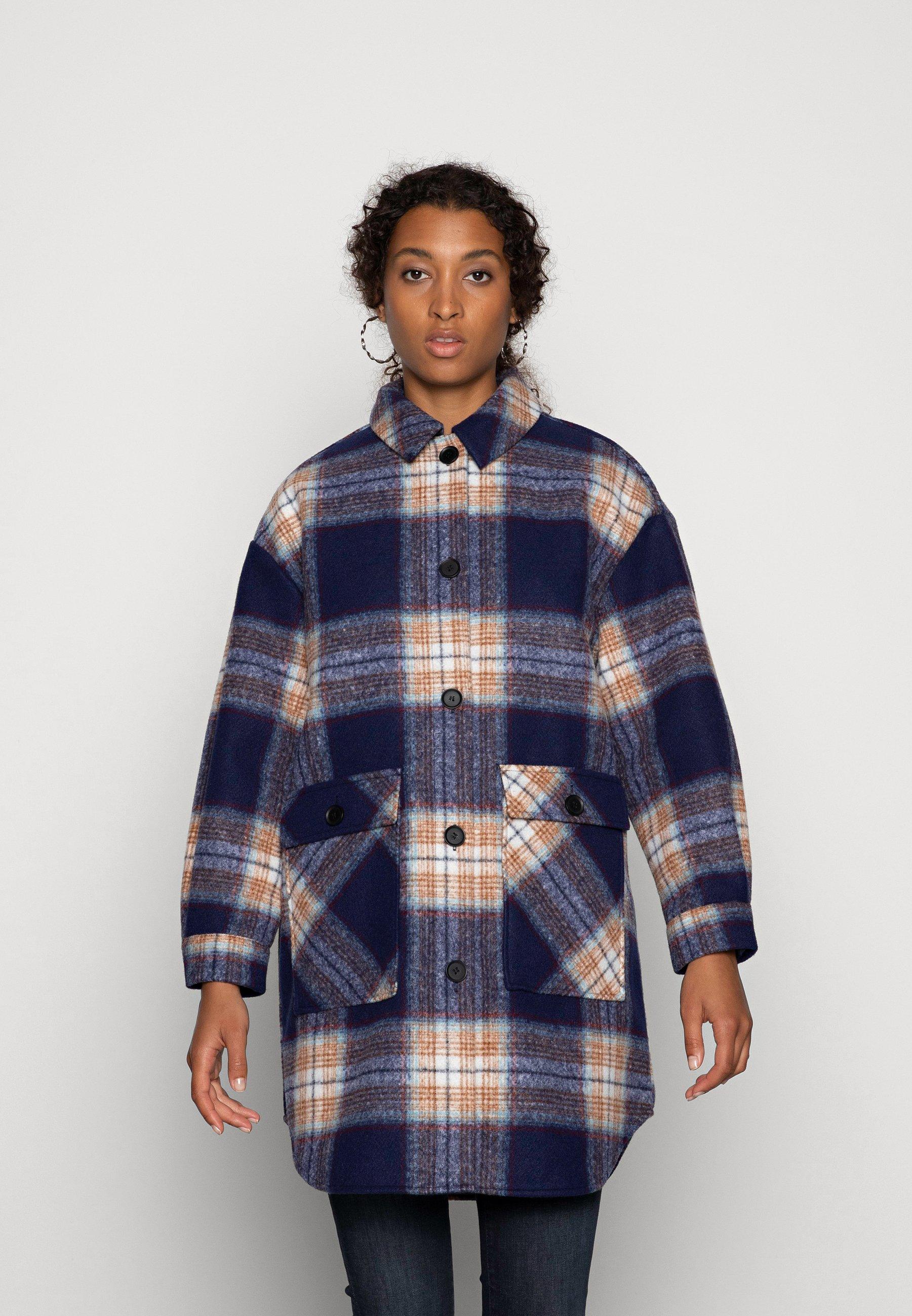 Women ONLLANE  SHACKET  - Classic coat