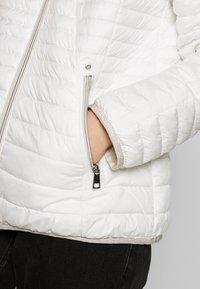 Barbara Lebek - STEPP MIT KAPUZE - Light jacket - offwhite - 4