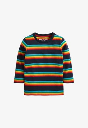 RAINBOW STRIPE  - Long sleeved top - blue