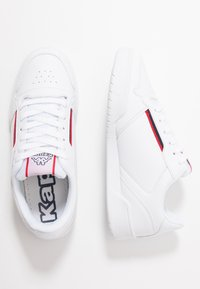 Kappa - MARABU - Zapatillas - white/red - 1