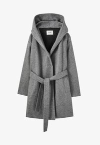 PULL&BEAR - Klasický kabát - dark grey - 5