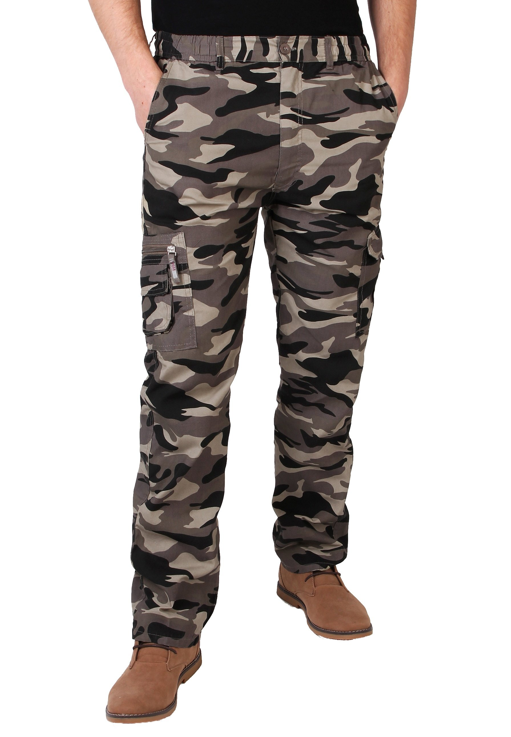 Men CAMOUFLAGE  - Cargo trousers