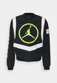 Jordan - Bomber Jacket - black/white/cyber - 0
