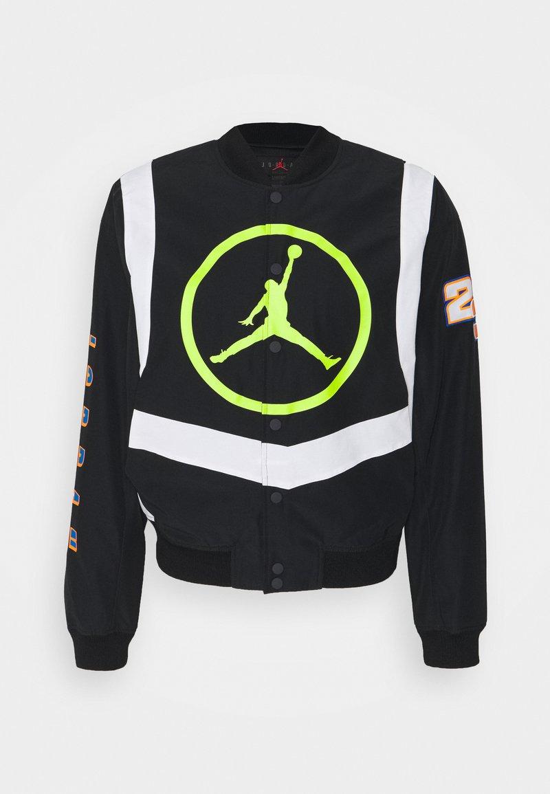 Jordan - Bomber Jacket - black/white/cyber