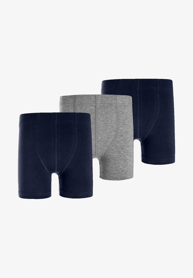 NMMTIGHTS 3 PACK - Panties - grey melange
