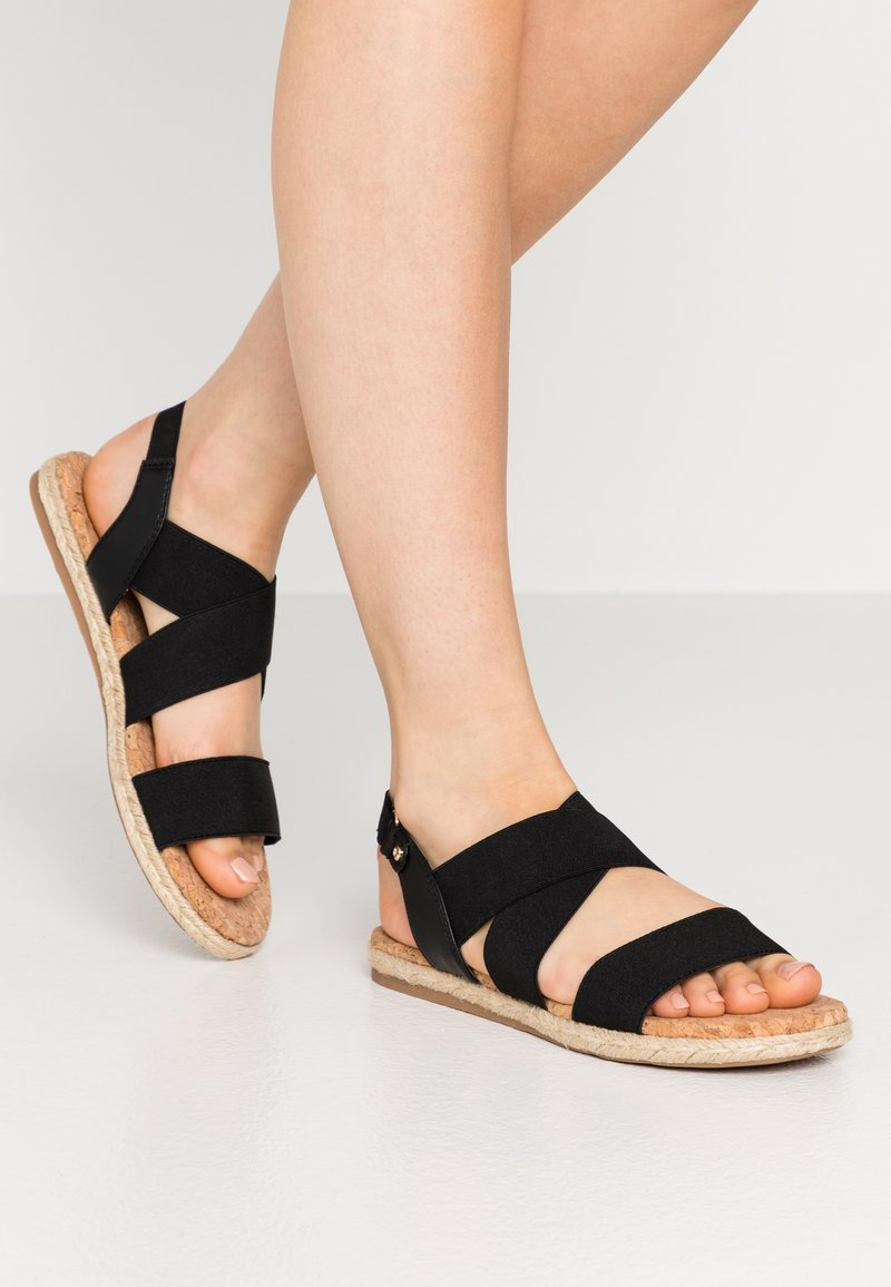 Call it Spring - MISTII - Espadrilky - black