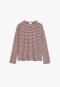 ARMEDANGELS - PALINAA  - Long sleeved top - kitt-ruby red - 4