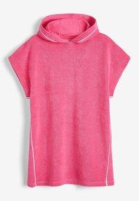 Next - MULTI HOODED PONCHO - Summer jacket - pink - 0