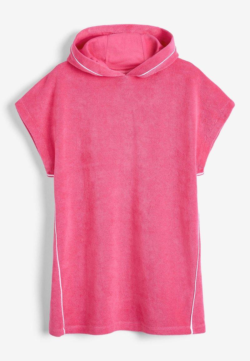 Next - MULTI HOODED PONCHO - Summer jacket - pink