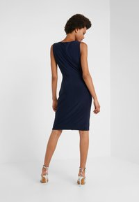 DKNY - SHEATH WITH RUCHING - Shift dress - midnight - 2