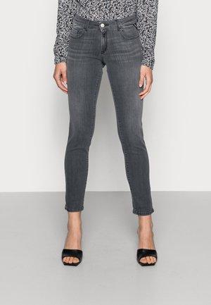 FAABY PANTS - Slim fit jeans - dark grey