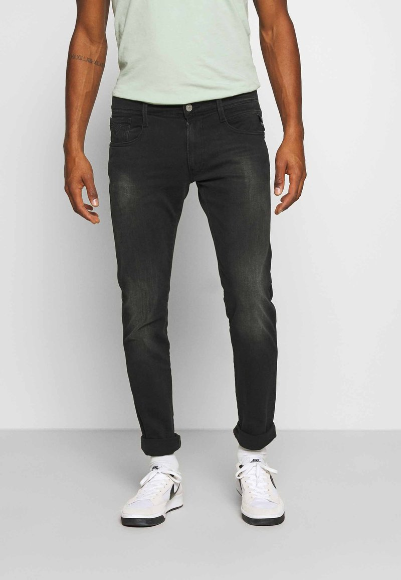 Replay - ANBASS - Slim fit jeans - black used