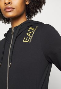 EA7 Emporio Armani - Zip-up hoodie - black - 4