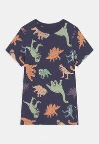 Cotton On - MAX SHORT SLEEVE TEE - Camiseta estampada - indigo/multi-coloured - 0