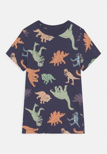 MAX SHORT SLEEVE TEE - T-shirt print - indigo/multi-coloured