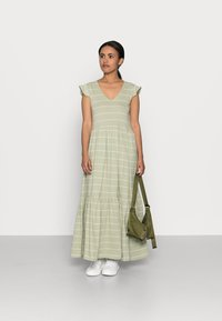 ONLY Petite - ONLMAY LIFE DRESS - Maxi dress - desert sage/cloud dancer - 1