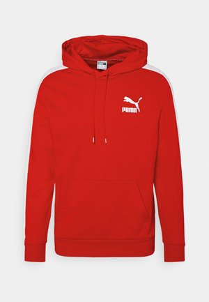 ICONIC HOODIE - Sweatshirt - high risk red