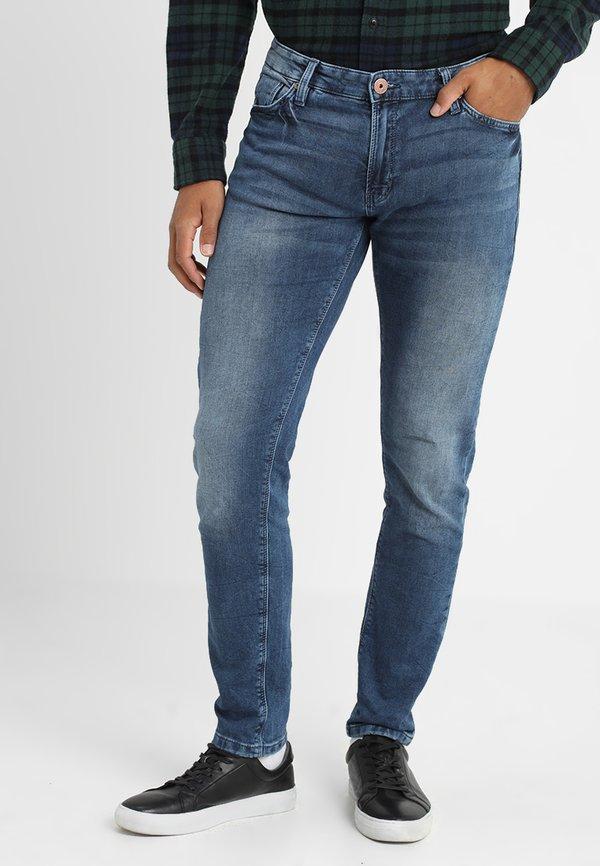 Cars Jeans ANCONA - Jeansy Slim Fit - vintage used/szaroniebieski Odzież Męska SHUP