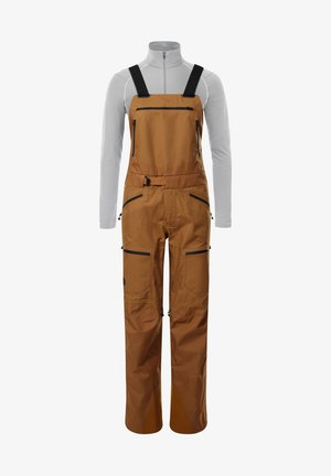 Overall /Buksedragter - timber tan