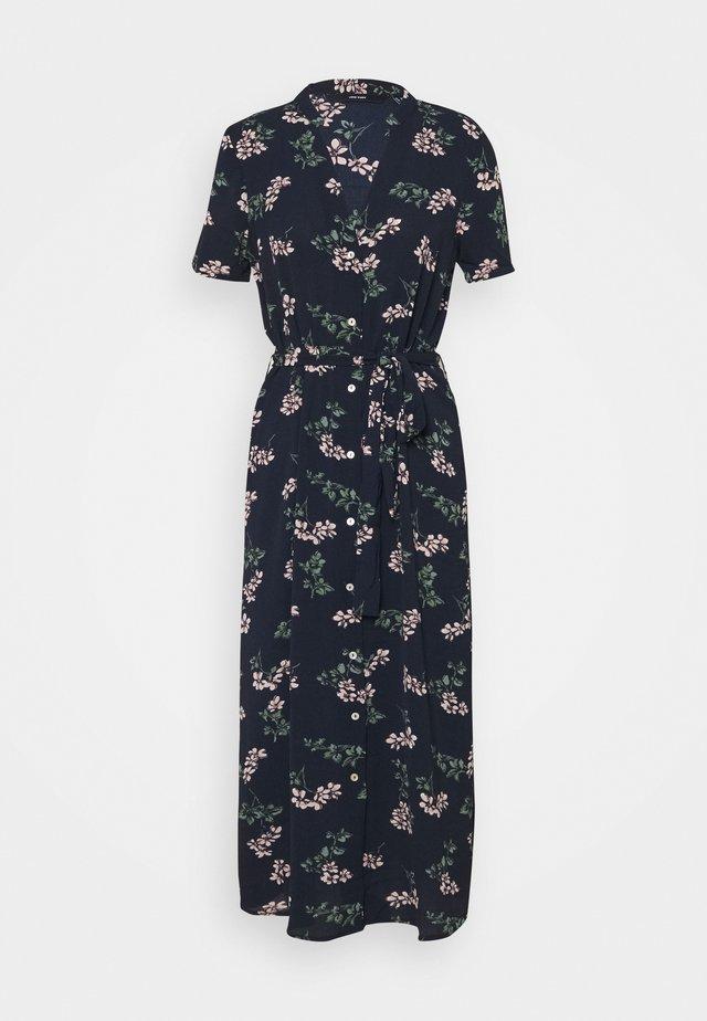 VMSAGA CALF DRESS  - Shirt dress - navy blazer
