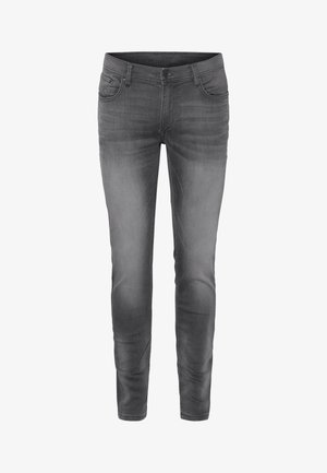 Straight leg jeans - grey stone wash