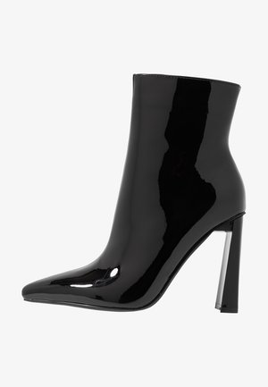 ELEXIS - High heeled ankle boots - black