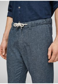 s.Oliver - Trousers - blue - 4