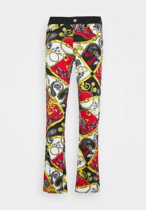 TELO BELT PAISLEY LAV - Jeans Slim Fit - rosso