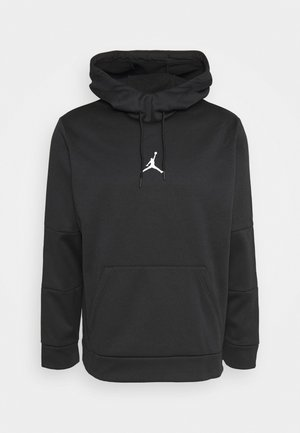 AIR THERMA - Kapuzenpullover - black/black/(white)
